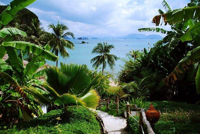 tropický ostrov Thajsko