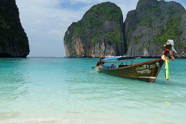 thajsko koh phi phi