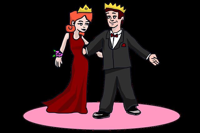 královna plesu a král plesu