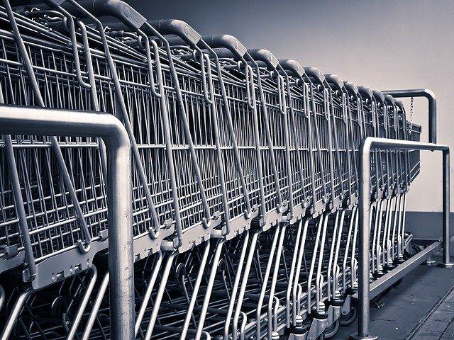 košíky na nákupy