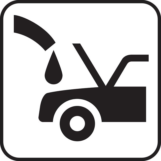 nákres, auto, olej