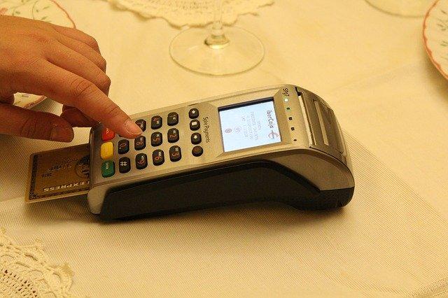platba přes terminál