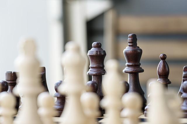 šachy jsou rozdány