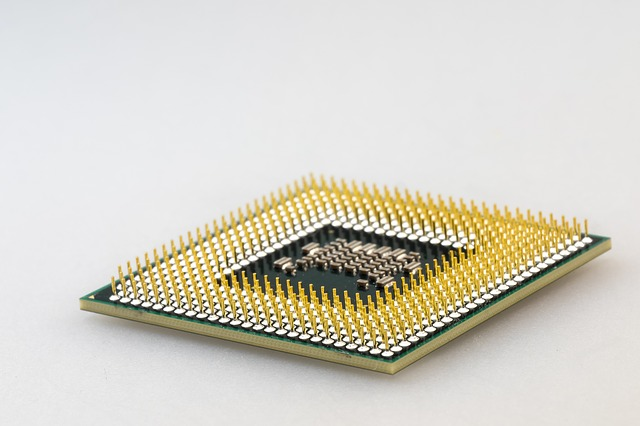 žlutý procesor