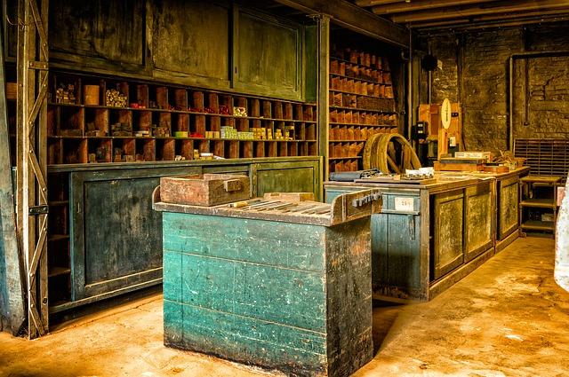 starý obchod