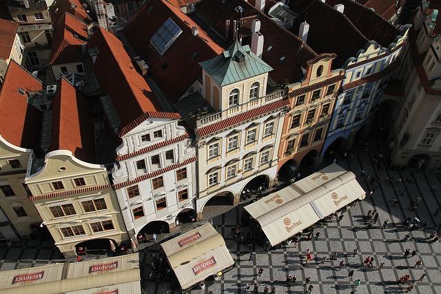 staré městské budovy