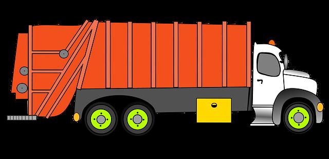 ilustrace jednoho druhu kamionu