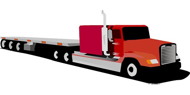 ilustrace kamionu bez návěsu